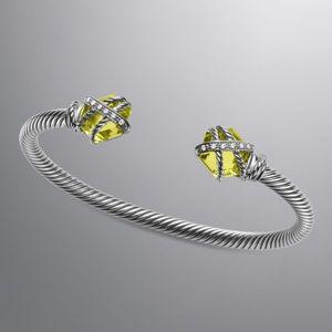 David Yurman Cable Wrap Cuff Bracelet w/ Box